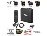Корка A5 M8 сердечника 4X квада коробки 2g/8g Amlogic S802 OS Bluetooth 3G TV Kitkat Android 4.4 коробки M8 Android TV