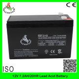 12V 7.2ah nachladbare VRLA Mf Schleife-Leitungskabel-Säure-Batterie AGM-SLA tiefe