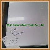 Hoja de acero inoxidable del precio bajo 304 del distribuidor de China