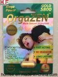 Comprimidos masculinos do realçador do sexo das ervas de Orgazen