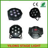 Ton-Steuerplastikgehäuse Mini70w RGBW LED NENNWERT Licht