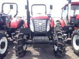 6 실린더 디젤 엔진을%s 가진 100HP 4X4 4WD 농장 바퀴 트랙터