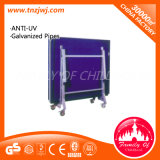 2016 Popular Ping-Pong Table Outdoor Folding Tennis Table with Wheels