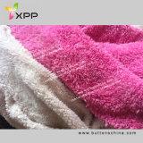 Fabbricato lavorato a maglia solido della pelliccia di Sherpa del poliestere