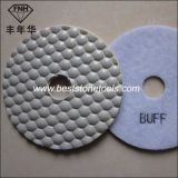Honeycomb Diamond Dry Polishing Pad for Granite Marble Sandstone Concrete