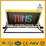LEDの交通標識のボードトラックによって取付けられるVms可変的なメッセージの印