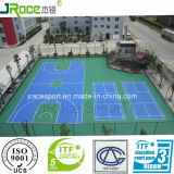 Guangzhou-Fabrik des im Freien Gummibodenbelag-Basketballplatzes