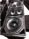Die Dreiwege hohe Leistung verdoppeln 15 Zoll Jbl fehlerfreie Prozeile Reihen-Lautsprecher für Handelsereignisse