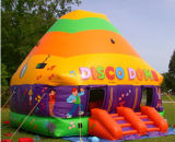 Aufblasbares Disco Dome Bonce House mit LED Lights