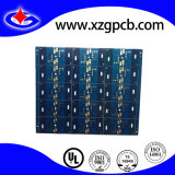 Multilayer PCB met Gold Plating en Blue Soldermask