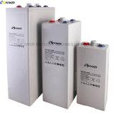 Bateria de gel de placa tubular SLA VRLA Bateria Opzv 2V 800ah