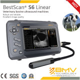 Varredor Bestscanner S6 do ultra-som do veterinário