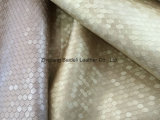 Tecido de estofamento de móveis metálicos para sofá e decoração de interiores