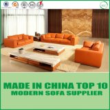 居間のソファーの家具のための現代本革のソファー