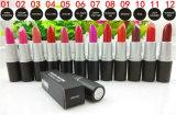 Batons famosos do tipo! 24 da forma cosmética profissional do lustro do bordo das cores batons nus da composição