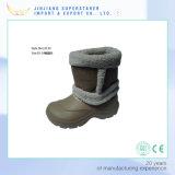 EVA Warm Snow Rain Boot, Kids Waterproof Non-Slip Chef Safety Boot Shoe