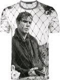 Camisa feita sob encomenda impressa forma do verão T dos homens