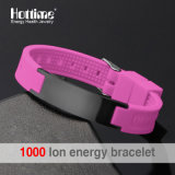 Förderung Eco Silikon-Armband mit negativem Ion (20002)