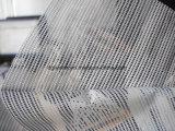 Im Freien Einweganblick Belüftung-Vinylzaun, der Ineinander greifen-Fahne für Drucken-Gewebe-Entwurf bekanntmacht