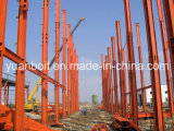 Pre проектированное стальное здание металла для Warehosue, гаража и ферм