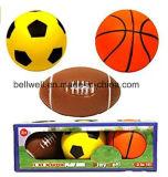 Alta calidad de los niños de interior y del conjunto al aire libre de la bola del juguete