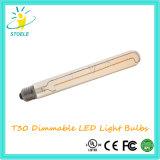 Bulbos tubulares de la lámpara de filamento de Stoele T30 8W LED