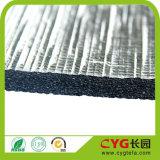 Mousse desserrée d'isolation thermique de papier d'aluminium adhésif et pour l'isolation de construction