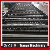 Le mattonelle di tetto del metallo laminato a freddo la formazione della macchina per tipo russo