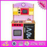Игры кухни 2016 игрушка W10c112 оптовой детей способа деревянной установленная