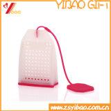 Diseño de encargo de silicona resistente al calor bolsita de té