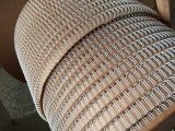 Двойной провод связывающего кольца металла петли