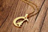 De Europese Halsband van de Tegenhanger van het Roestvrij staal van de Juwelen van de Manier voor Vrouwen