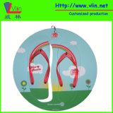 Тапочка доски Promoional ЕВА способа/Flops Flip с рамкой круга
