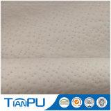 Tela que hace tictac hecha punto almohadilla real del colchón del látex de Tencel del estilo de Tailandia