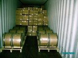 Computer-Kabel CCA-kupferner plattierter Aluminiumdraht in der hölzernen Trommel