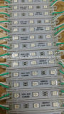 3SMD5050 el módulo de epoxy azul 75*12 del color LED impermeabiliza el módulo del LED