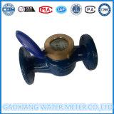 Medidor Woltmann agua, Grande Diamter, Hierro Cuerpo,
