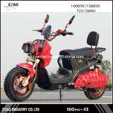 Scooter scooter elétrico vespa de 72V 1000W, Scooter elétrico de 2 rodas com pedal