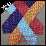 Cravatte variopinte del Mens all'ingrosso stampate seta di 100%