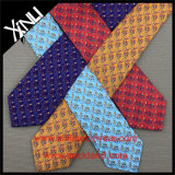 絹によって印刷されるメンズ多彩なネクタイ