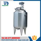 Tanque de armazenamento refrigerando de mistura do aço inoxidável