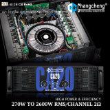 Amplificador de potencia profesional de la clase H de la grada 3 de la serie del poder más elevado Ca20