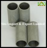 Сплетенный нержавеющей сталью фильтр патрона Srainer ячеистой сети
