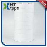 Cinta adhesiva de doble cara blanca del papel de algodón de la venta caliente