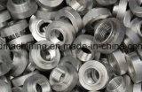 Нержавеющая сталь, алюминий, латунь, Delrin, части CNC подвергая механической обработке CNC, поворачивающ, филировать, меля