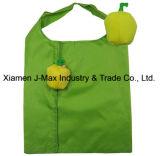 Faltbares mehrfachverwendbares Frucht-Handtaschen-Polyester-fördernder Geschenk-Einkaufentote-Beutel