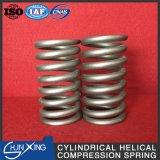 Muelle en espiral cilíndrico helicoidal de la compresión de la alta calidad