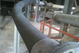 Un tubo flessibile di gomma allineato di ceramica da 3 pollici