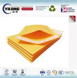 Papel amarillo Kraft de oro Envíe el sobre que envía