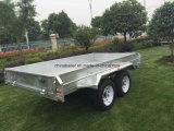 двойным гальванизированный Axle трейлер коробки 10X6 для сбывания